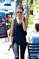 alessandra ambrosio plays peekaboo with her abs while shopping 06