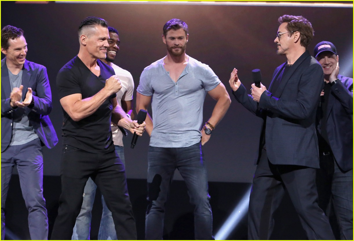 avengers assemble to debut infinity war footage at d23 133928595