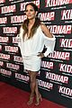 halle berry brings kidnap to miami in stunning white mini dress 07