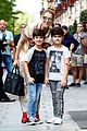 celine dion her twin boys pose for cute photos in paris 19