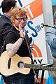 ed sheeran today show performances watch 10
