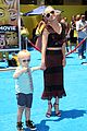 anna faris brings son jack to emoji movie premiere 12