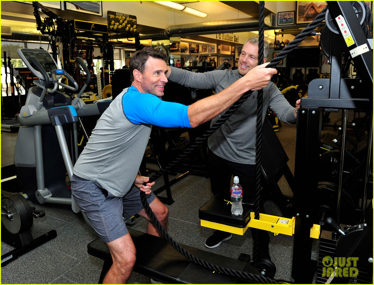 scott foley takes us into his workout with gunnar peterson 153933882