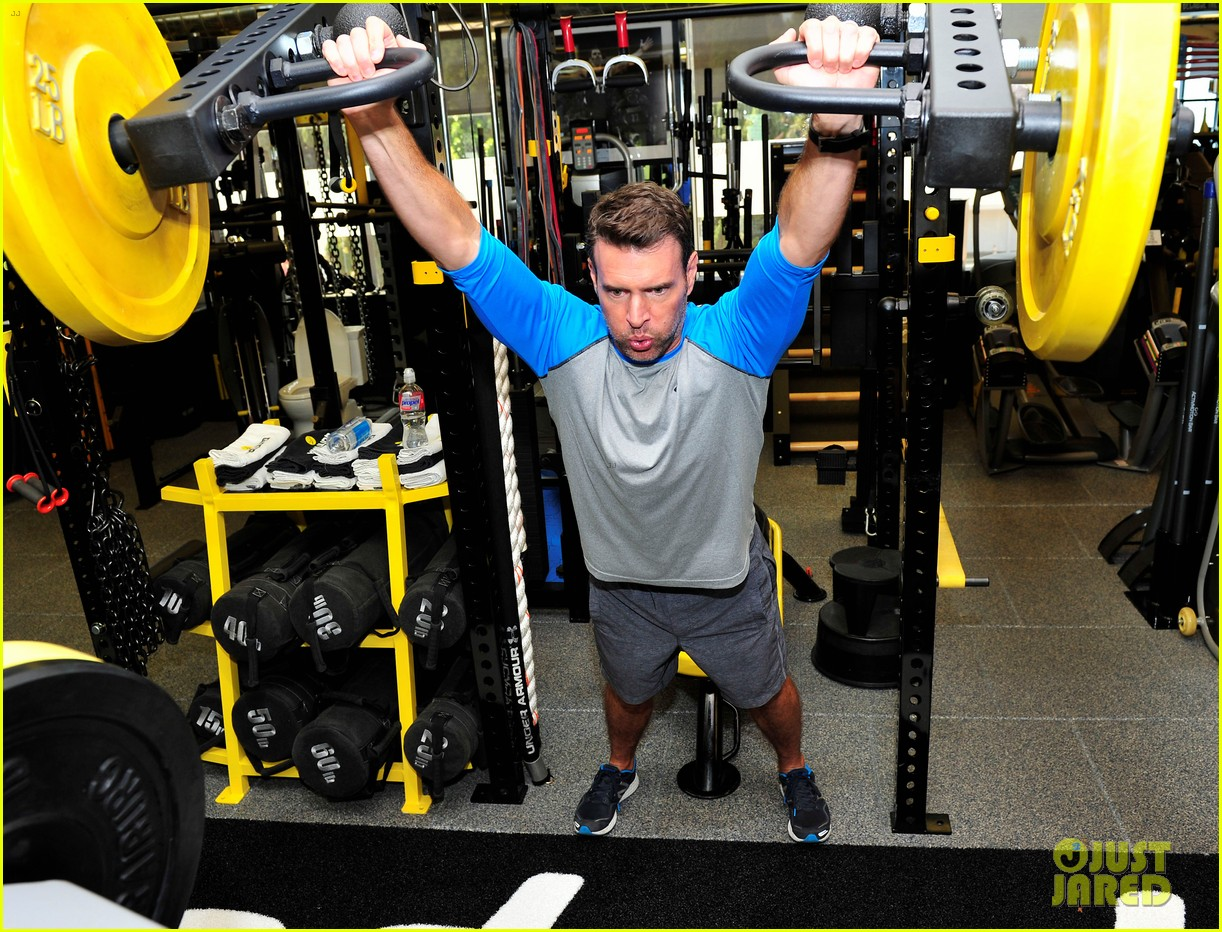 scott foley takes us into his workout with gunnar peterson 183933885