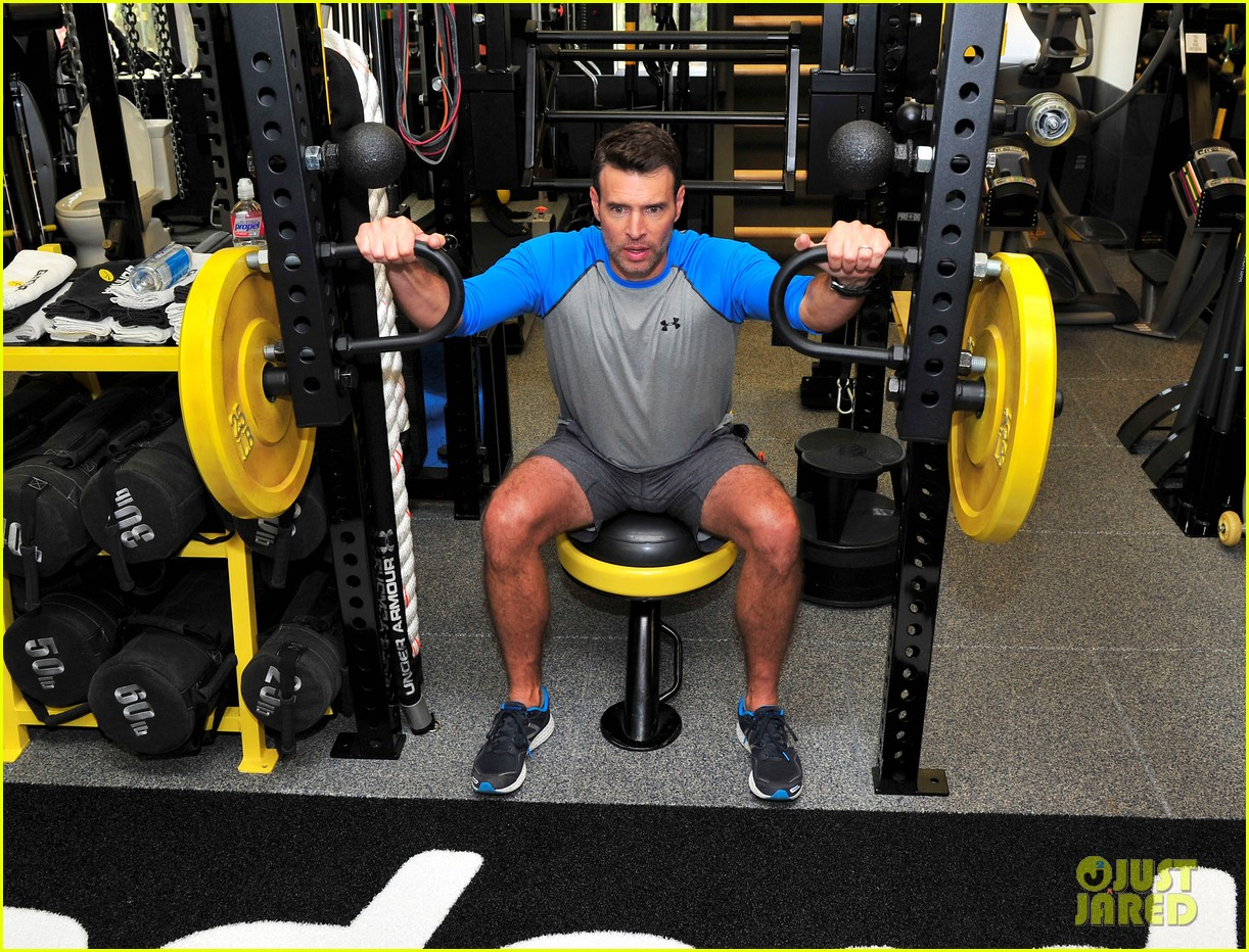 scott foley takes us into his workout with gunnar peterson 203933887