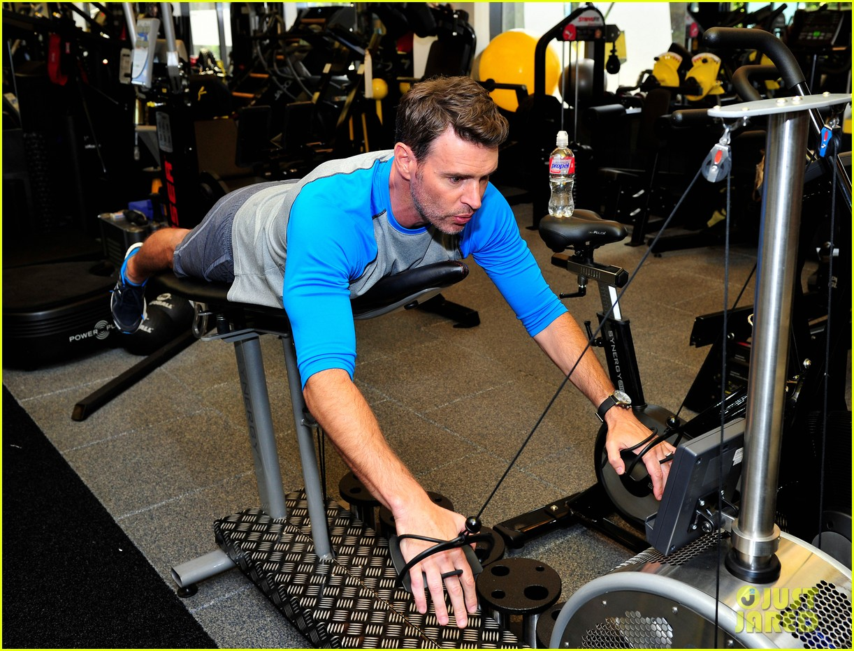 scott foley takes us into his workout with gunnar peterson 233933890