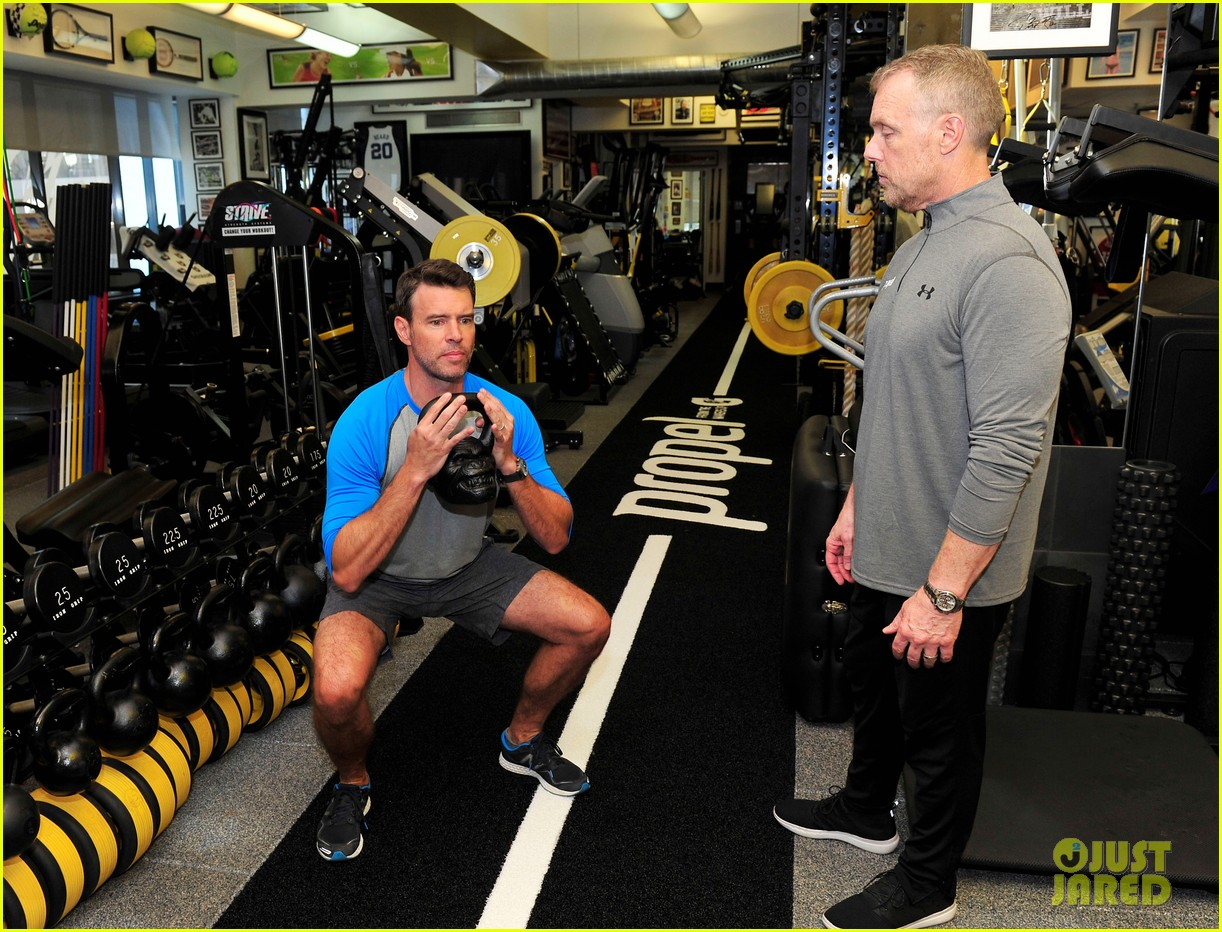 scott foley takes us into his workout with gunnar peterson 293933896