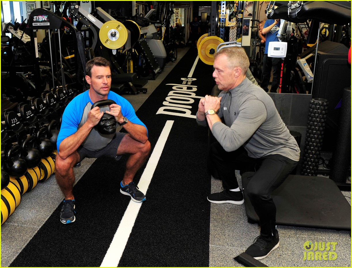 scott foley takes us into his workout with gunnar peterson 303933897