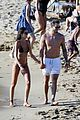 izabel goulart boyfriend kevin trapp flaunt pda at the beach 06