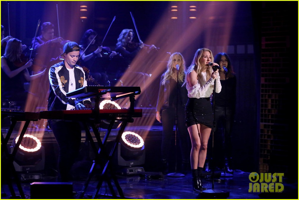 kygo ellie goulding perform first time on the tonight show 013934344