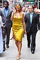 heidi klum is a golden goddess in nyc 02