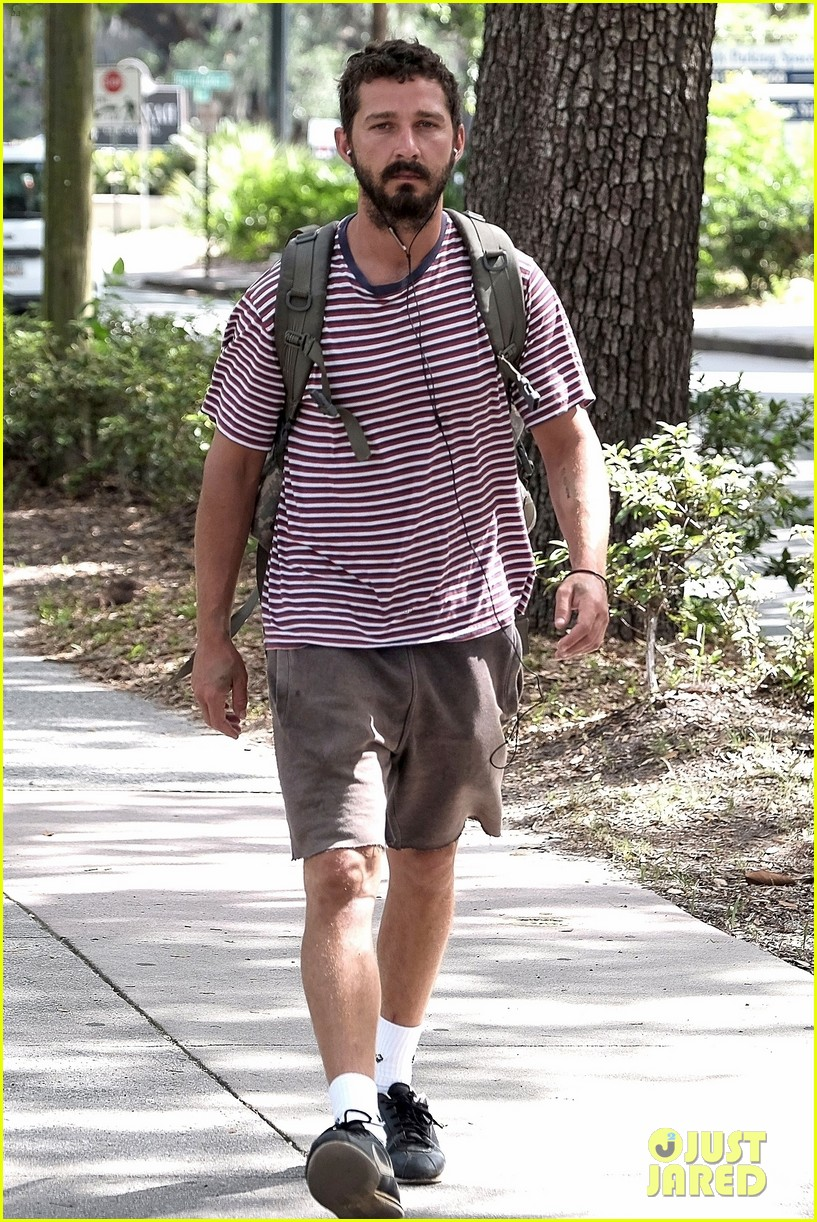 shia labeouf steps out for first time after arrest in georgia 033928718