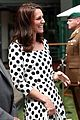 kate middleton debuts short haircut at first day of wimbledon championships 06