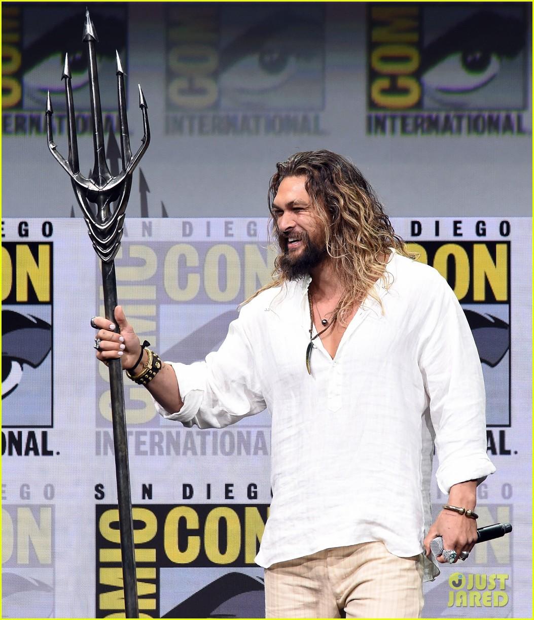 Jason Momoa Comic Con: Full Sized Photo Of Jason Momoa Aquaman Comic Con 06