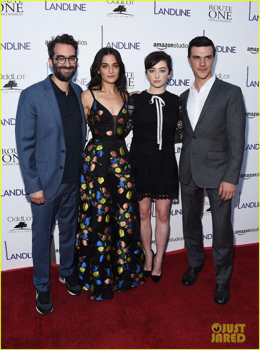 jenny slate gets support from zachary quinto darren criss at landline premiere 013927277