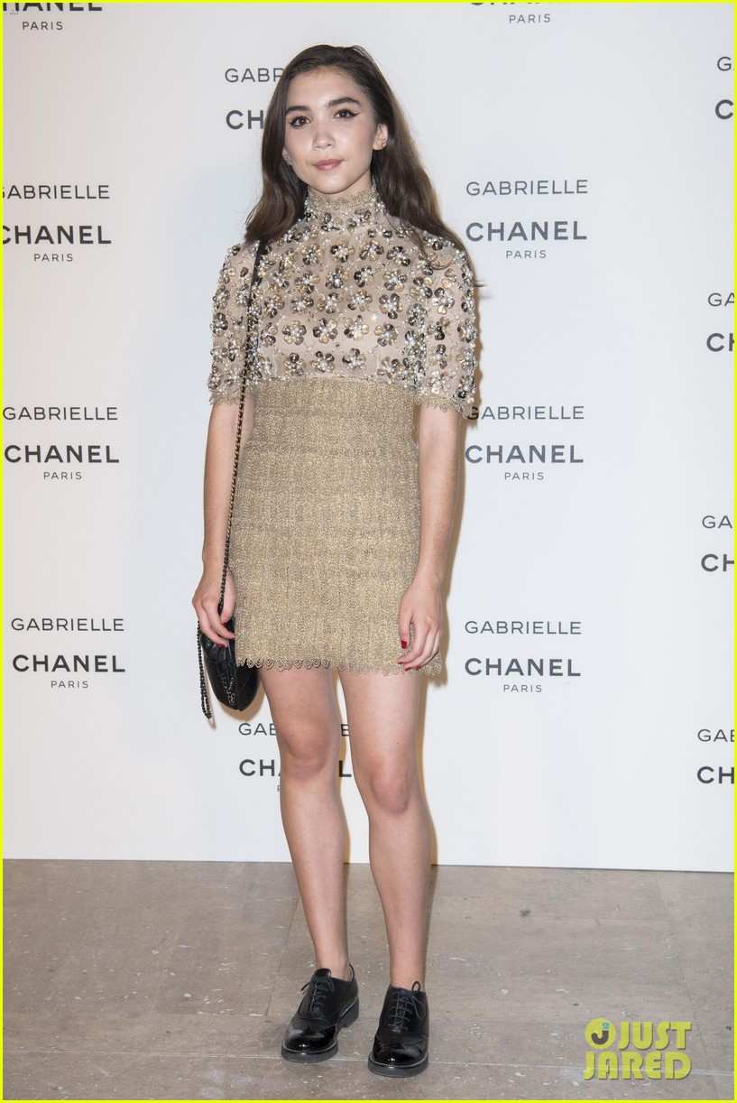 kristen stewart stella maxwell coordinate at chanels gabrielle perfume launch 033923677