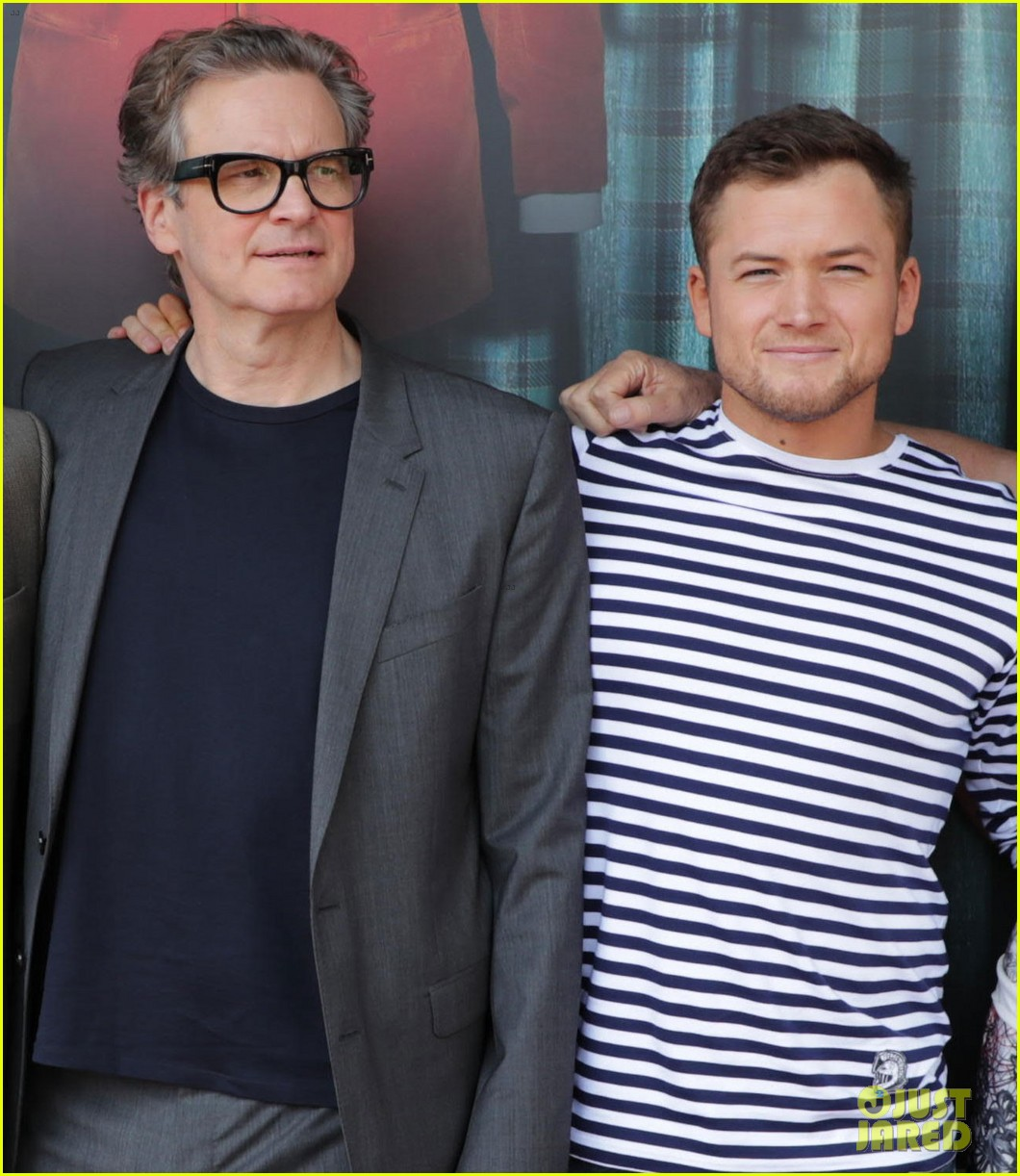 channing tatum taron egerton halle berry kick off comic con 2017 with kingsman 2 panel 053930504