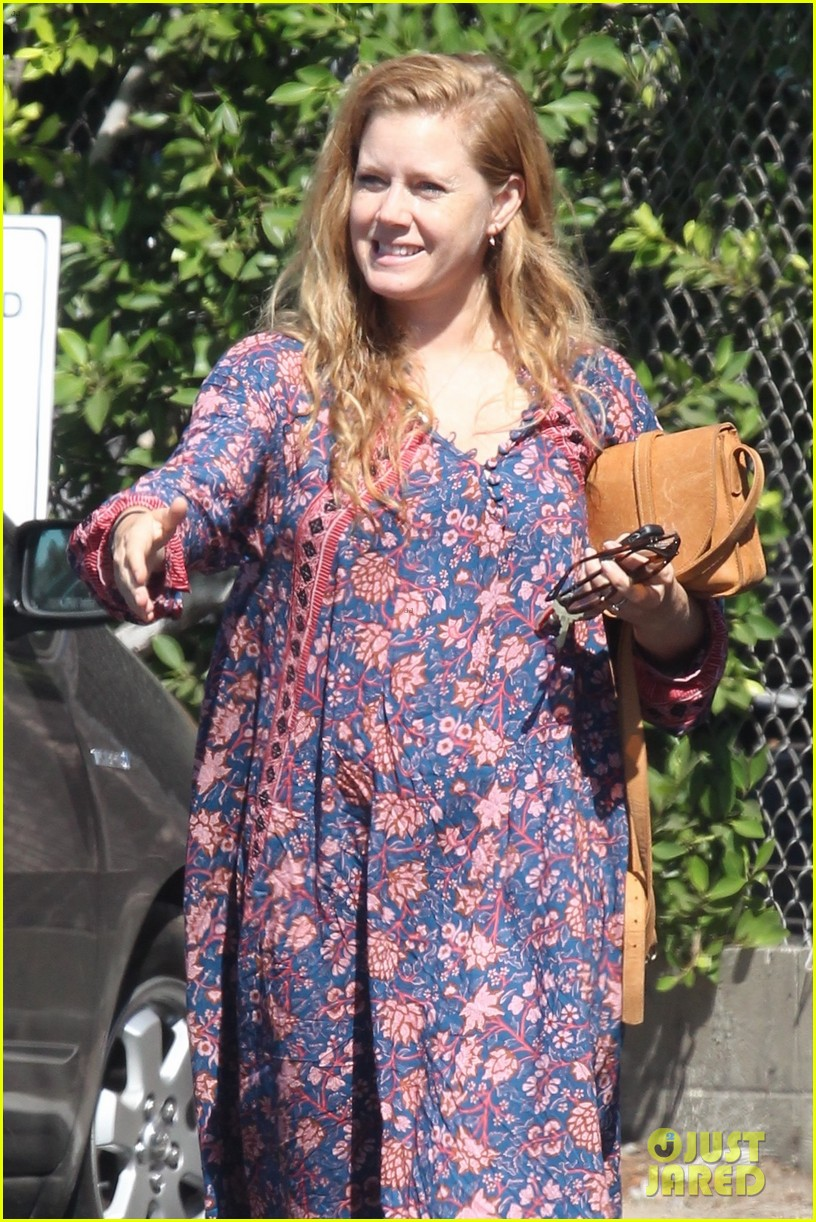 amy adams looks stunning while going makeup free in la 073941140