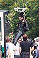 zazie beetz films her own stunts on deadpool 2 set 14