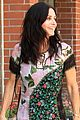 courteney cox wears leaf patterned dress 04