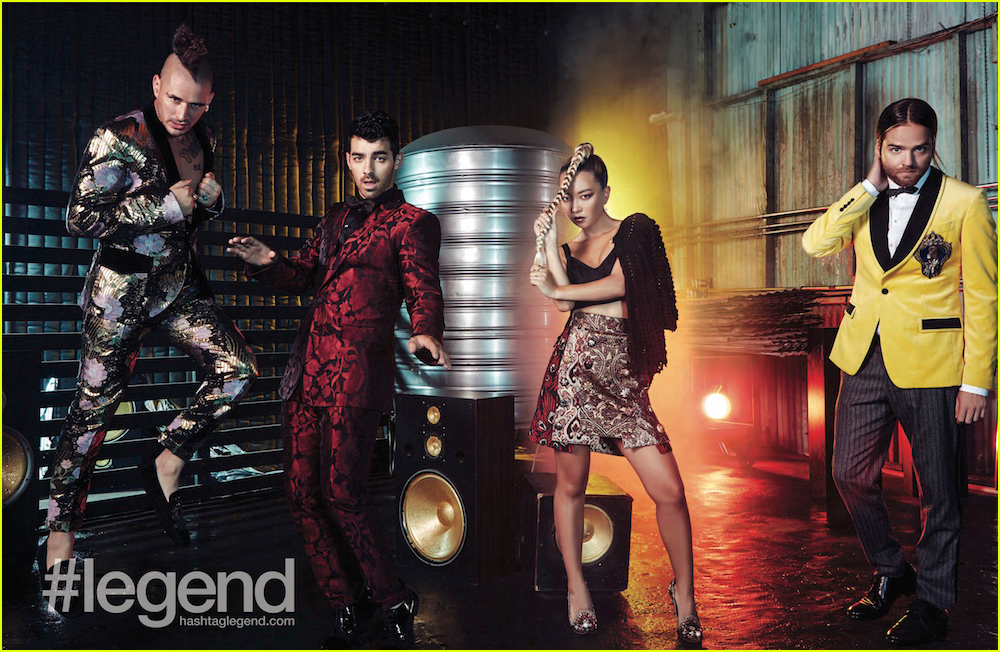 dnce covers legend magazine september issue 023948891