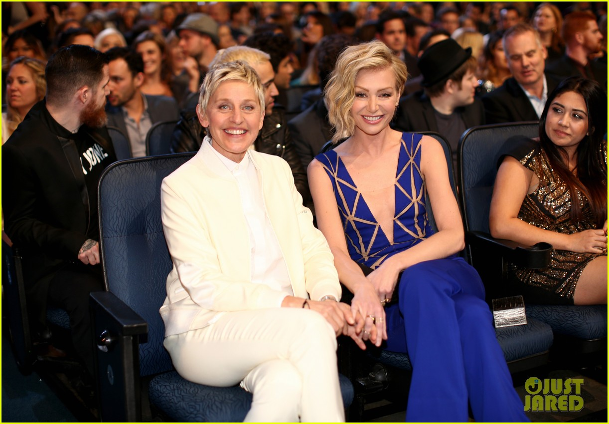 Ellen And Portia Ellen Degeneres Shares Sweet Anniversary Post To Wife Portia De