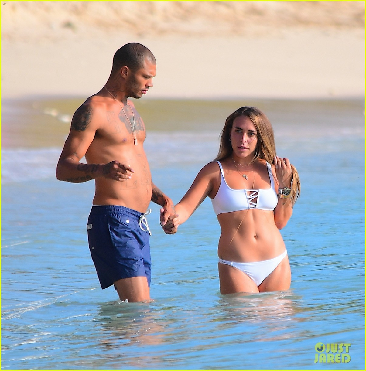 jeremy meeks chloe green vacation in barbados 053937945