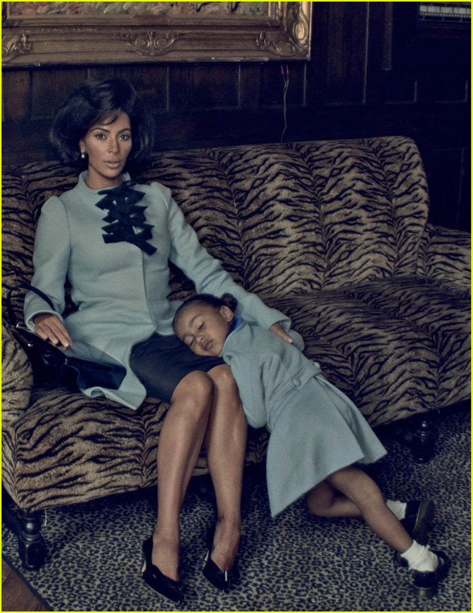 kim kardashian covers interview with north west 043947414