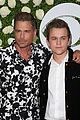 rob lowe son matthew join young sheldon cast at cbs summer tca soiree 76
