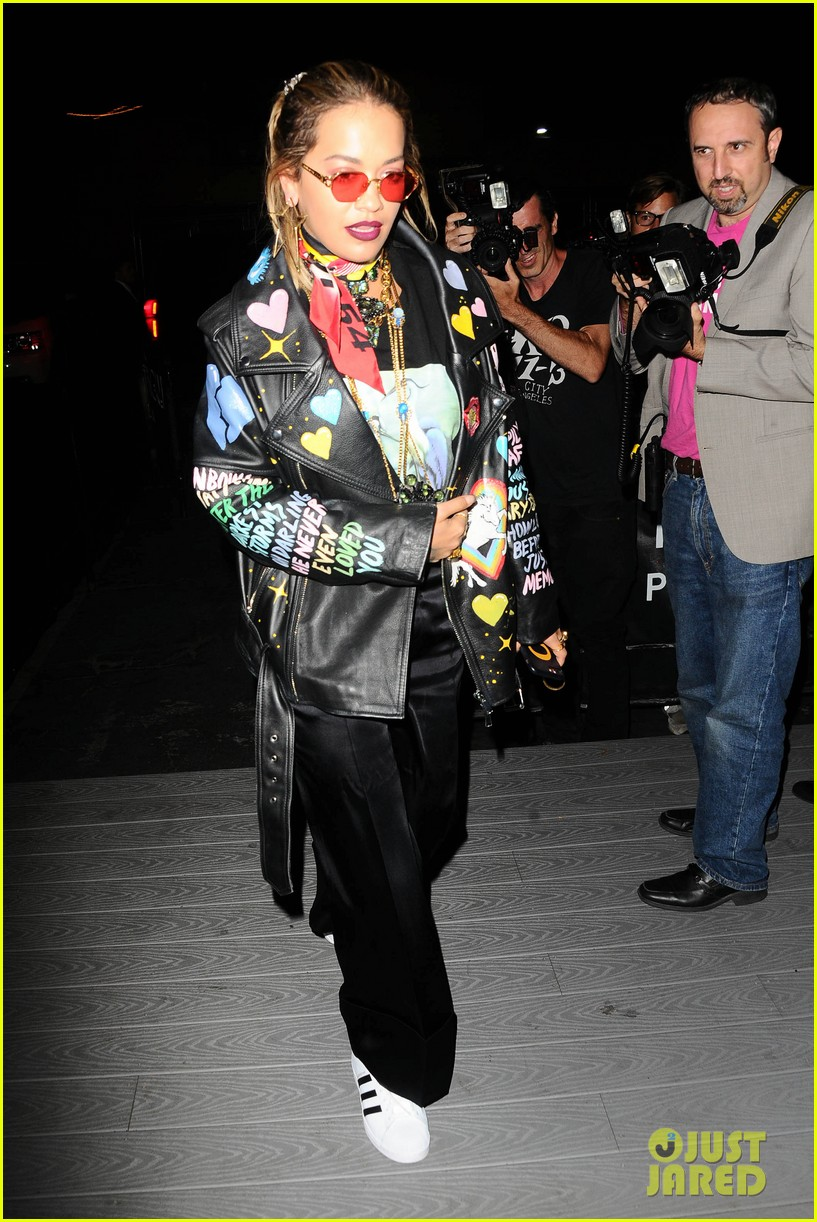 alexander ludwig and rita ora step out for secret magazine party 023945093