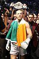 floyd mayweather wears ski mask conor mcgregor wears ireland flag to fight 03