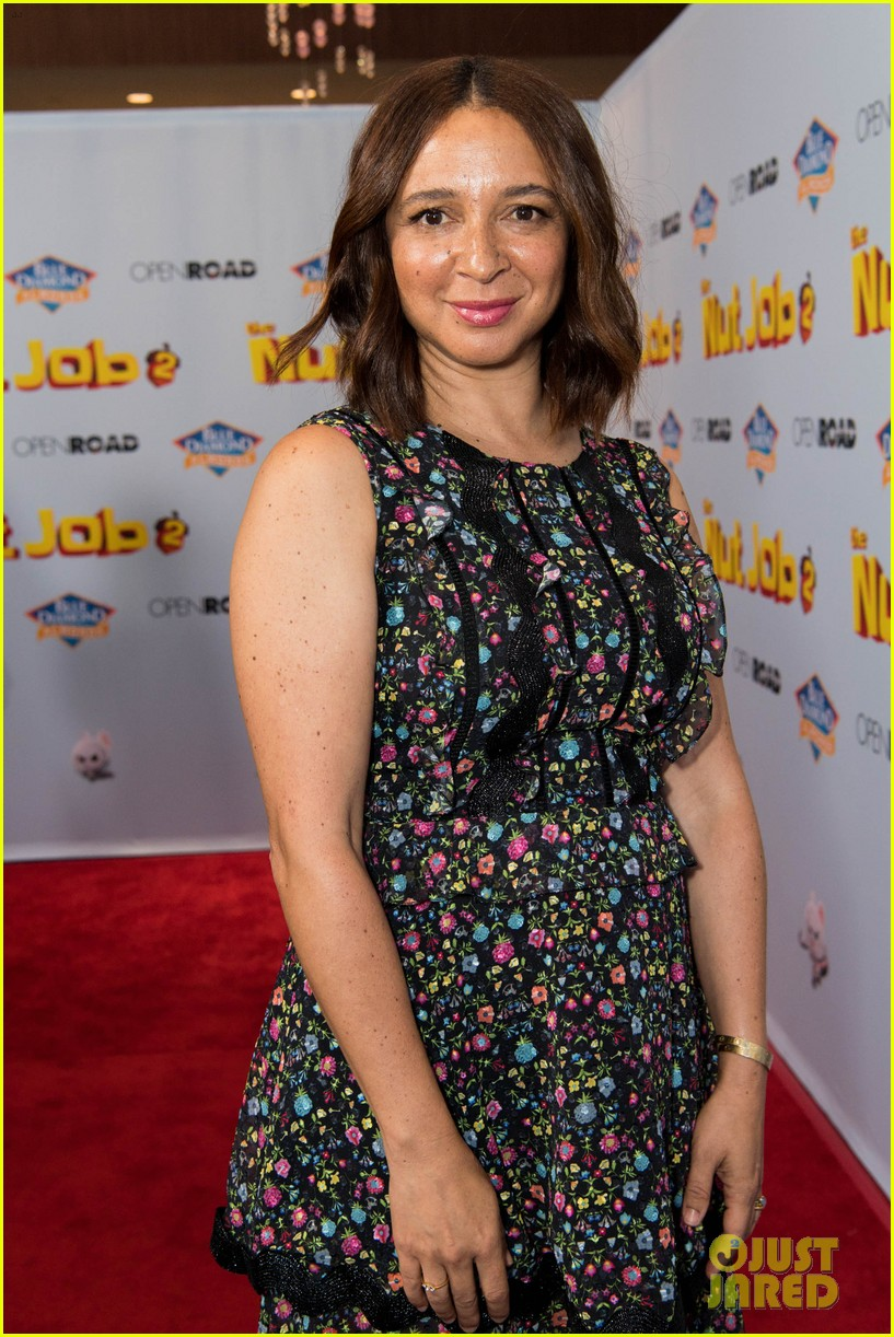maya rudolph will arnett premiere nut job in la 103938085