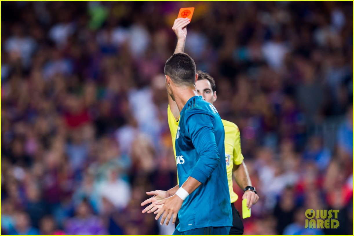 cristiano ronaldo suspended for five games after pushing ref 083941701