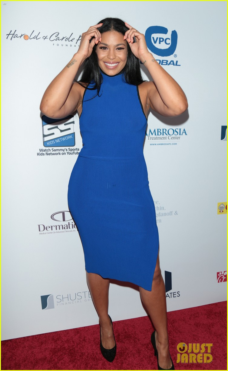 jordin sparks makes first red carpet appearance with boyfriend dana isaiah 053941087