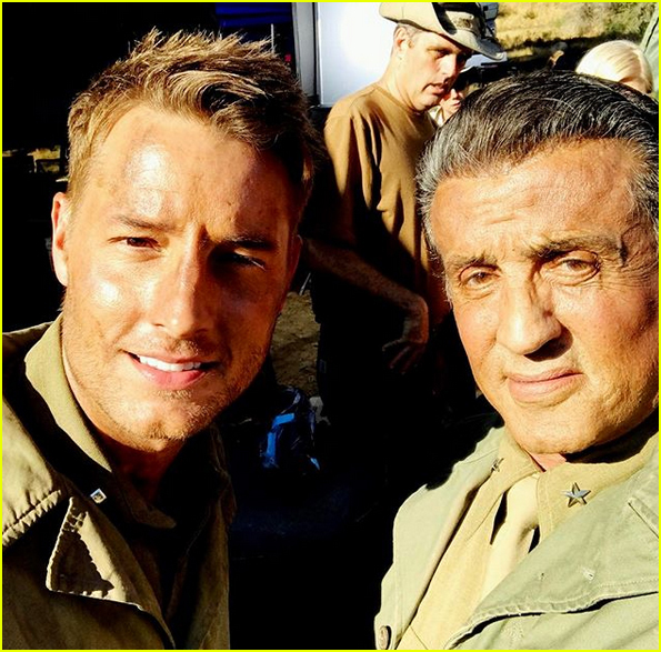 sylvester stallone begins filming this is us 013941163