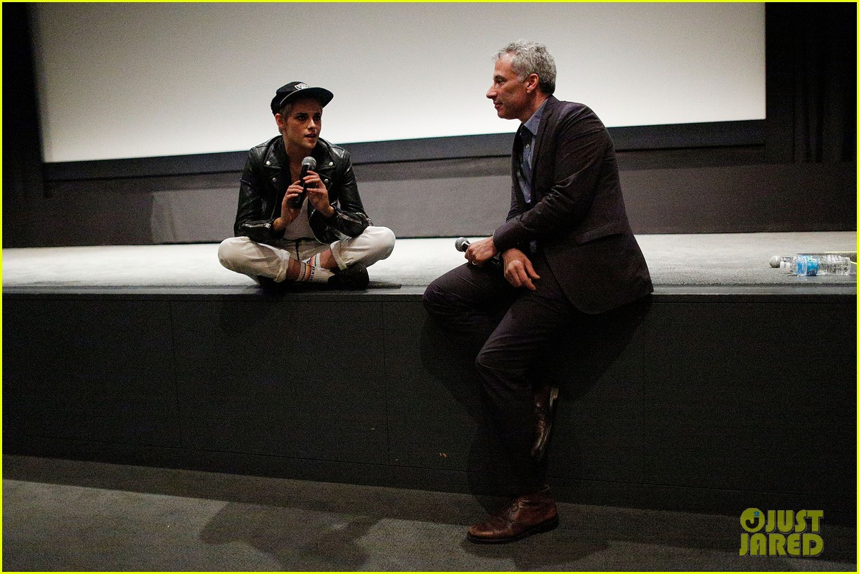 kristen stewart screens her movie come swim at the moma in nyc 133948380