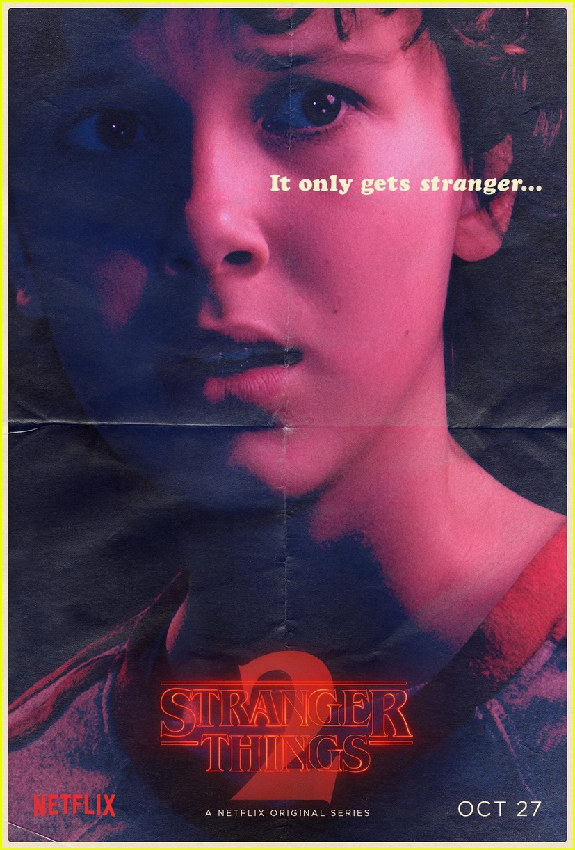 strangers things season 2 debuts new character posters 013946270
