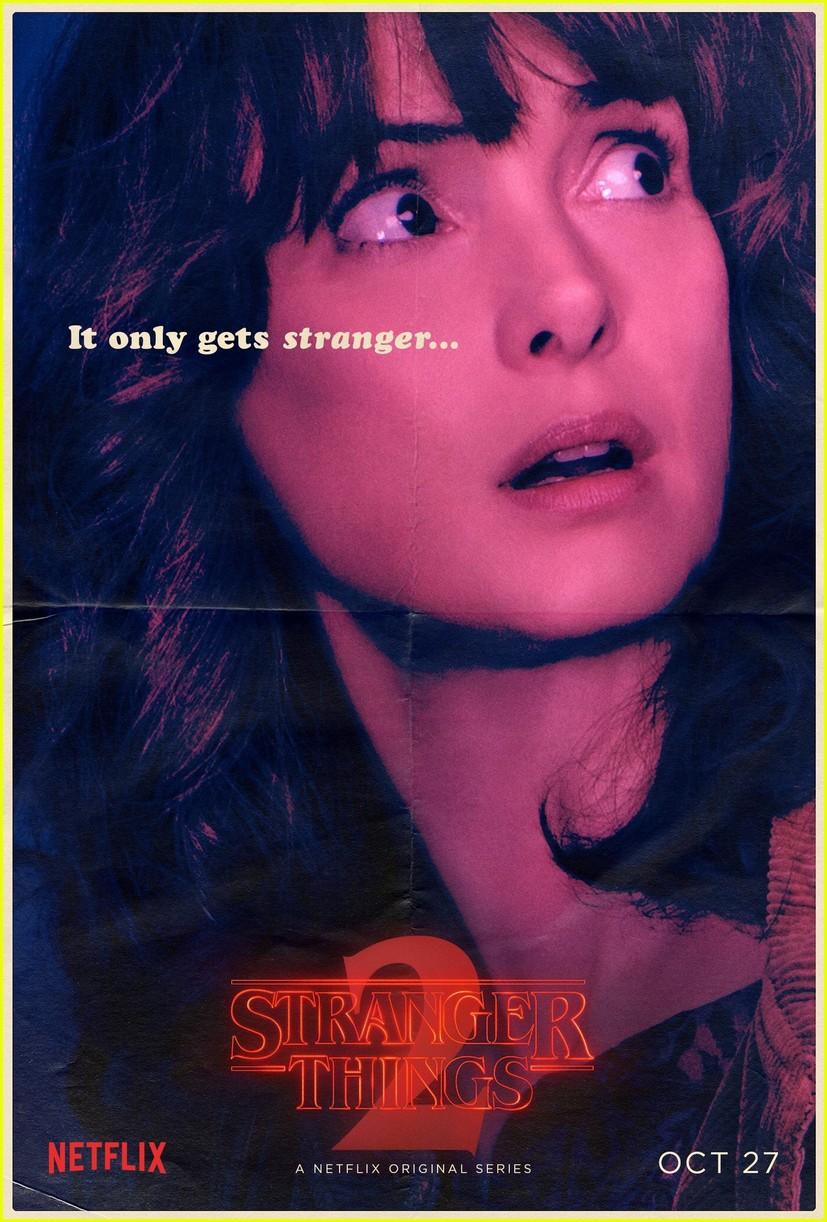 strangers things season 2 debuts new character posters 053946274