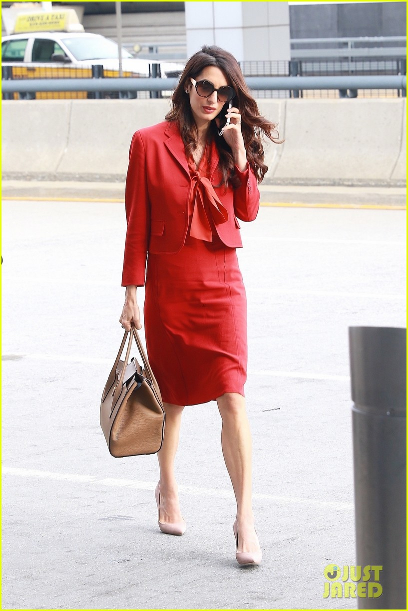 amal clooney is back at work after welcoming twins 033962300