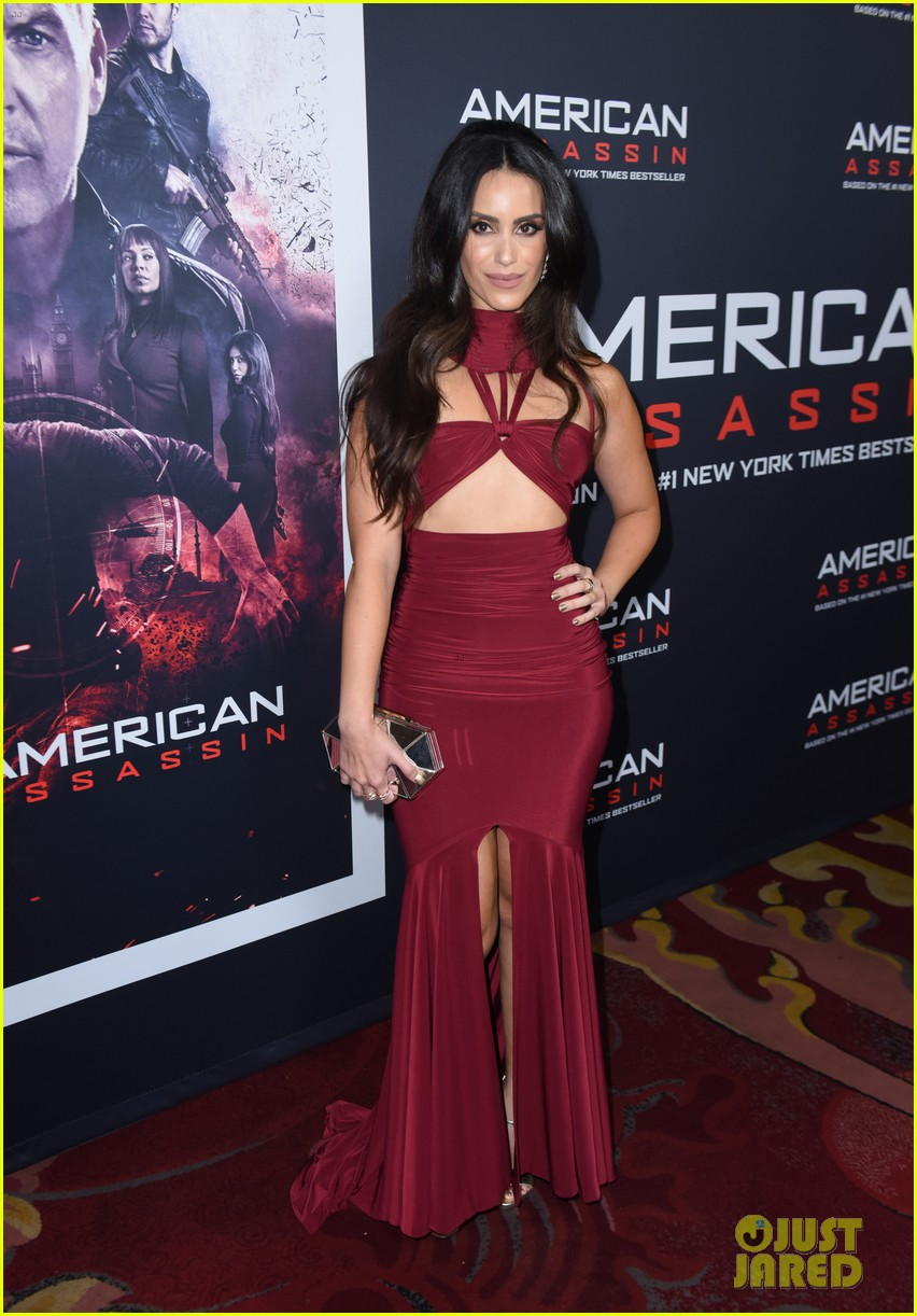 tyler posey supports dylan obrien at american assassin la premiere 043956538