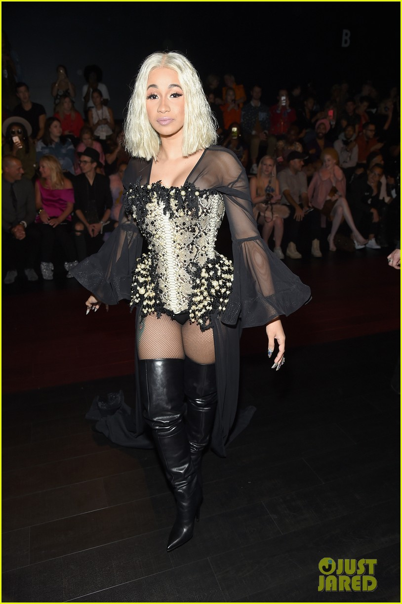 cardi b offset couple up at new york fashion week events 143956170