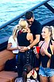 scott disick and sofia richie flaunt pda on a boat with friends 03