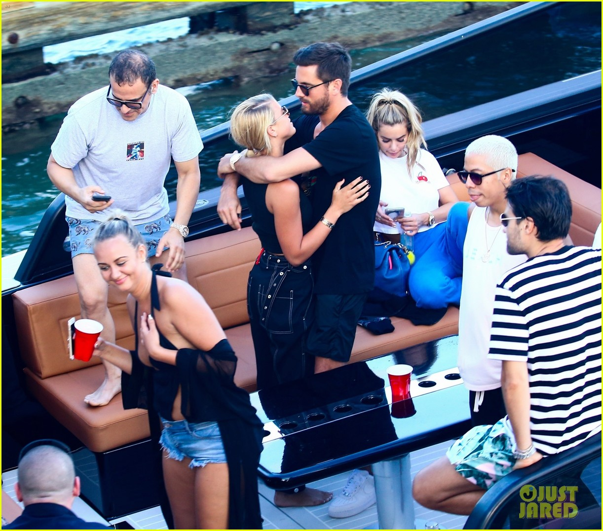 scott disick and sofia richie flaunt pda on a boat with friends2 453963025