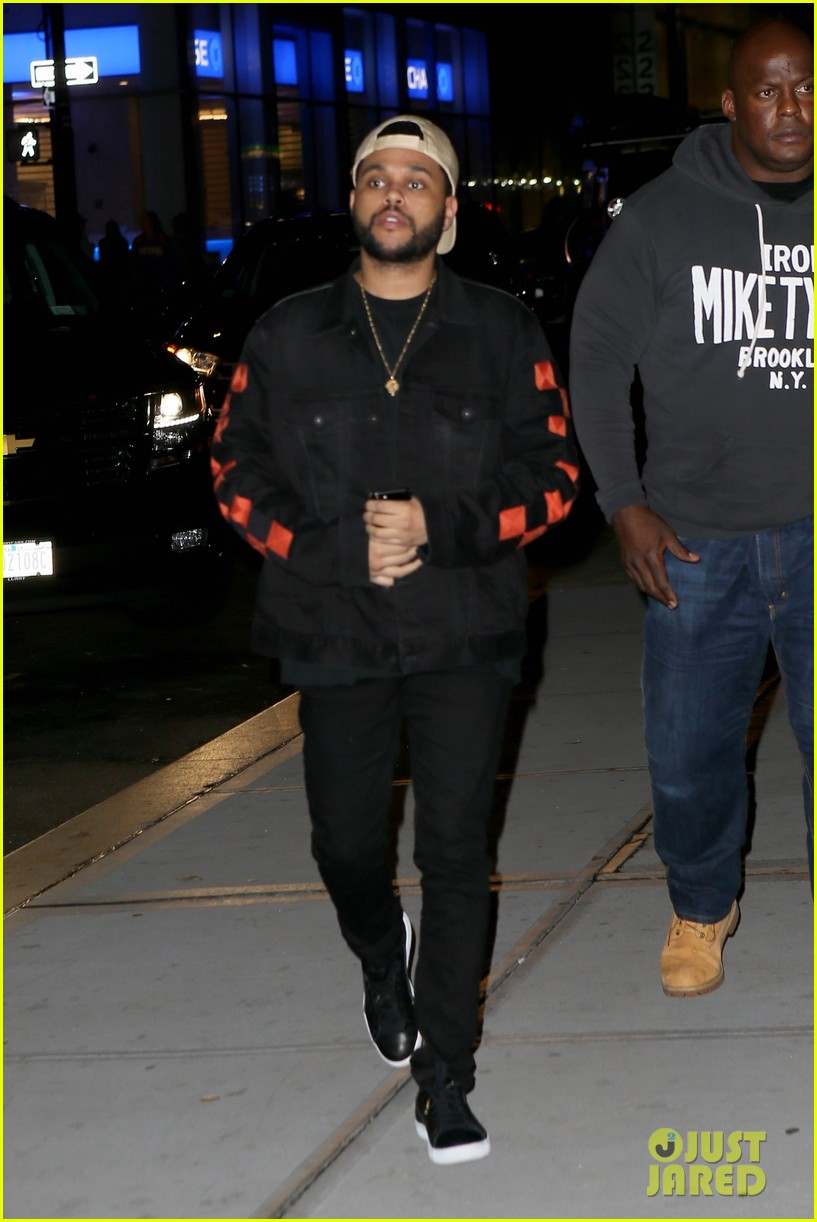 selena gomez the weeknd step out for low key date night 053949998