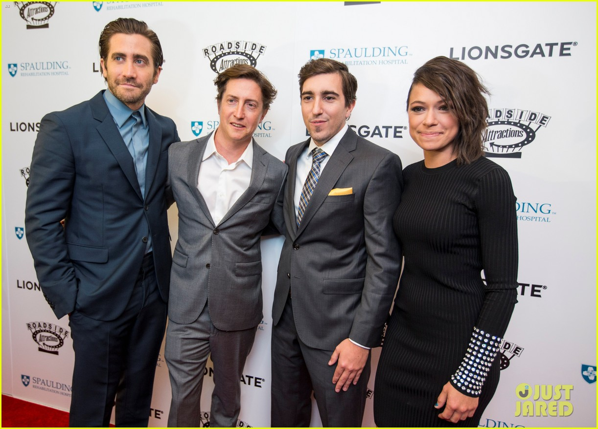 jake gyllenhaal stronger boston premiere 053956198