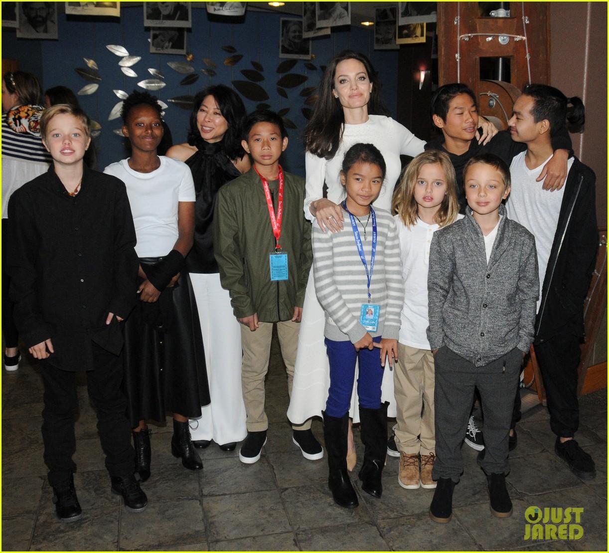 angelina jolies six kids look so grown up at telluride film fest 01