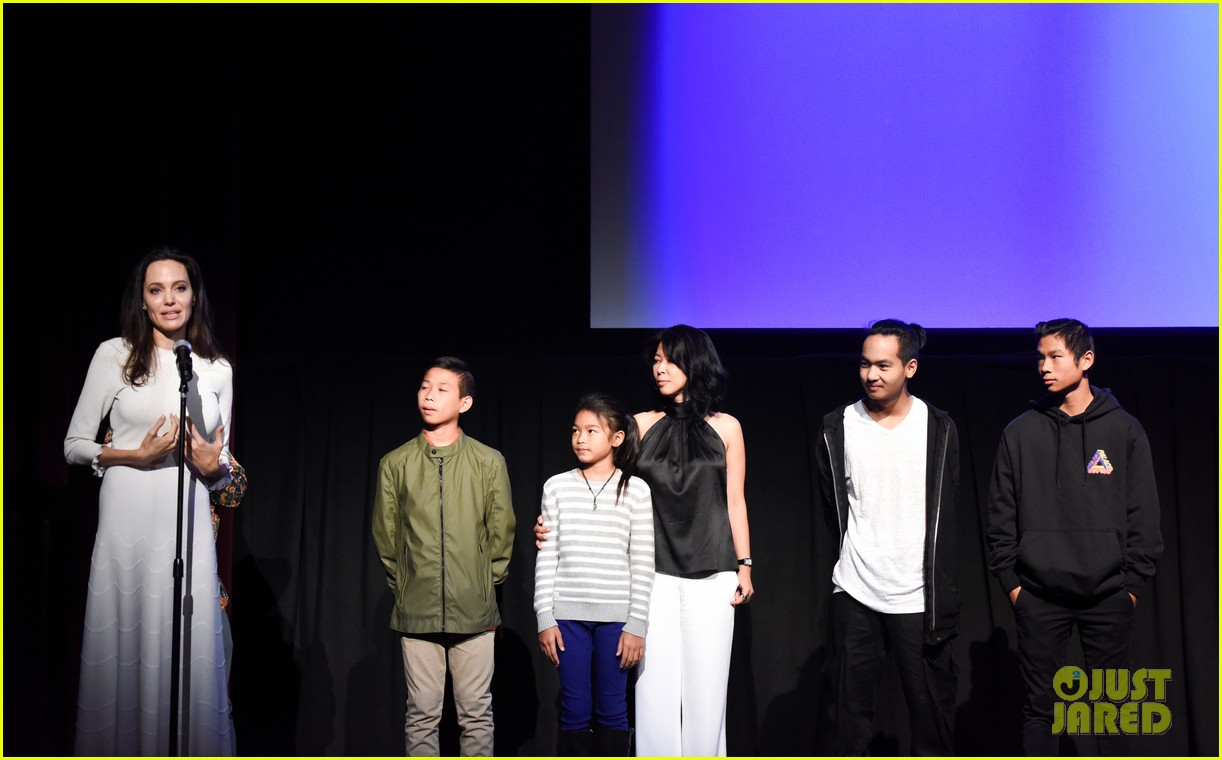 angelina jolies six kids look so grown up at telluride film fest 133949774