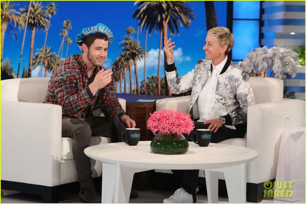 nick jonas opens up about what inspired find you on ellen 013960718