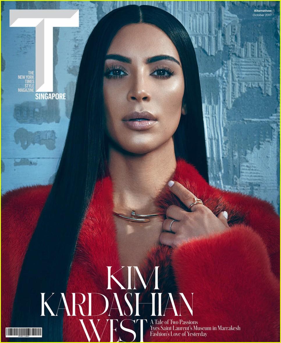 kim kardashian t magazine singapore 02