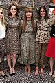 ellie kemper zosia mamet buddy up at kate spade new york leopard pop up shop 05